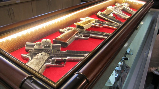 "Brian ""Gunny"" Zins from Cabot Guns visits CSA"