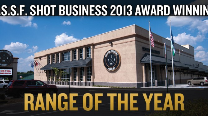CSA awarded 2013 Range of the Year by NSSF SHOT Business